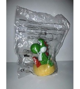 FIGURINE Yoshi mc Mac Do 2016 HAPPY MEAL NINTENDO SUPER MARIO BROS Neuf