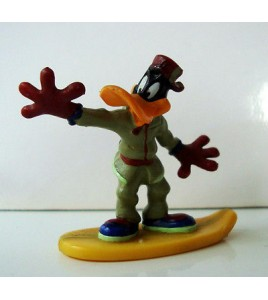 FIGURINE FREERIDERS - DAFFY DUCK  WARNER BROS