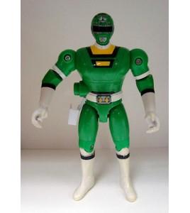 figurine sentei - power rangers vert bandai 97