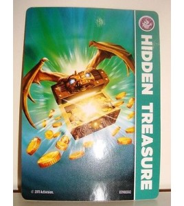 CARTE CARD FIGURINE SKYLANDERS - HIDDEN TREASURE
