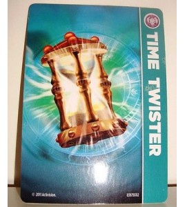 CARTE CARD FIGURINE SKYLANDERS - TIME TWISTER