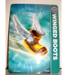 CARTE CARD FIGURINE SKYLANDERS - WINGED BOOTS