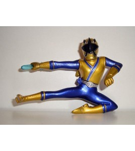 FIGURINE SENTEI POWER RANGERS  2012 - FORCE BLEU (7x9cm)