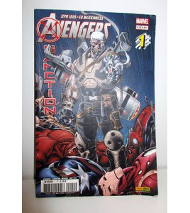 PANINI COMICS MARVEL AVENGERS X SANCTION N°1 COVER 12 AOUT 2012