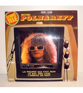 vinyl lp 33t MICHEL POLNAREFF - DOUBLE ALBUM (SUPER STARS TELE)