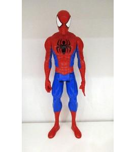 GRANDE FIGURINE MARVEL SPIDERMAN PETER PARKER L'ARAIGNEE HASBRO 2013 (29x10cm)