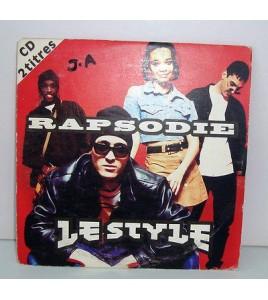 CD 2 TITRES - RAPSODIE LE STYLE