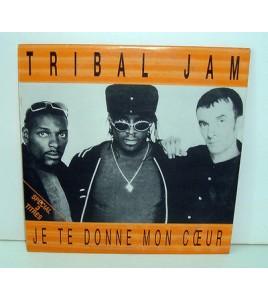 CD 2 TITRES - TRIBAL JAM JE TE DONNE MON COEUR
