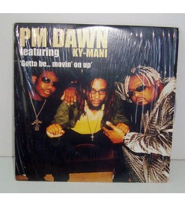 CD 2 TITRES -PM DAWN GOTTA BE MOVIN' ON UP'