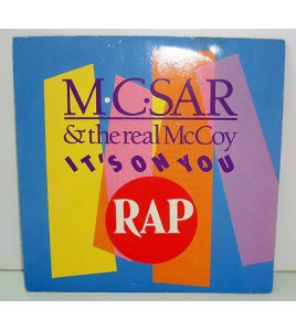 45 tours SP - MC SAR & the real McCoy - IT'S ON YOU - 1990
