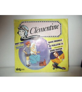 DISQUE VYNIL 45T  - CLEMENTINE RECRE A2 MARIE DAUPHIN ANTENNE 2