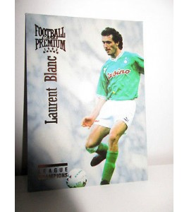 football Carte cards premium panini 1995 n°23 laurent blanc saint etienne
