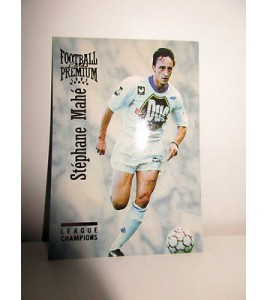 football Carte cards premium panini 1995 n°39 stephane mahe auxerre