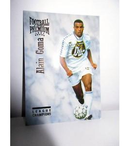 football Carte cards premium panini 1995 n°32 alain goma auxerre