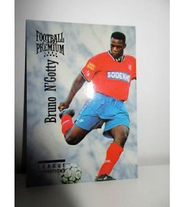 football Carte cards premium panini 1995 n°40 bruno n'gotty lyon