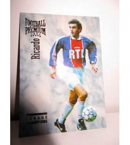football Carte cards premium panini 1995 n°44 ricardo psg
