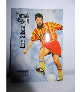 football Carte cards premium panini 1995 n°47 eric sikora rc lens