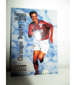 football Carte cards premium panini 1995 n°94 christophe dugarry bordeaux