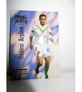 football Carte cards premium panini 1995 n°53 frederic arpinon sedan
