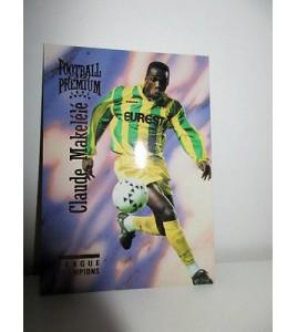 football Carte cards premium panini 1995 n°71 claude makelele fc nantes