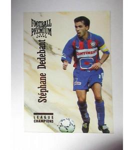 football Carte cards premium panini 1995 n°119 stephane dedebant caen