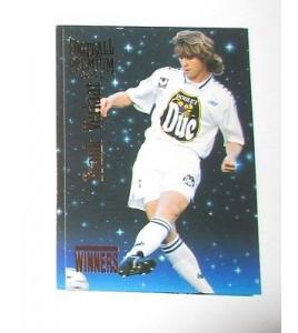 football Carte cards premium panini 1995 n° w42 frank verlaat auxerre
