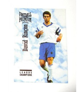 football Carte cards premium panini 1995 n°109 david rincon dunkerque