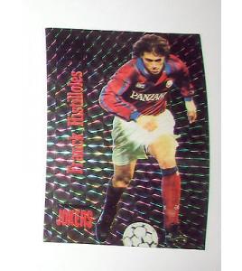 football Carte cards premium panini 1995 joker n°j09 franck histilloles bordeaux