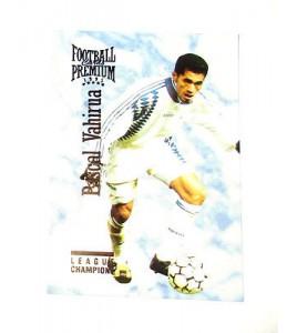 football Carte cards premium panini 1995 n°113 pascal vahiura auxerre