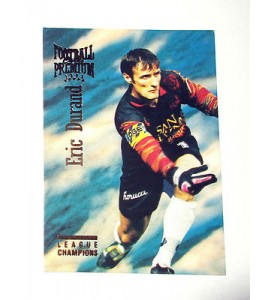 football Carte cards premium panini 1995 n°6 eric durand martigues