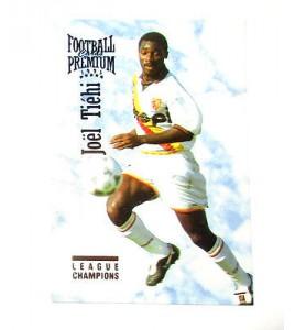 football Carte cards premium panini 1995 n°112 joel tiehi rc lens