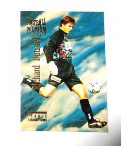 football Carte cards premium panini 1995 n°7 richard dutruelle caen