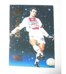 football Carte cards premium panini 1995 n°w 33 alain roche psg