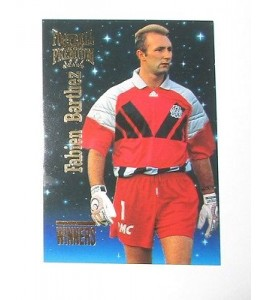 football Carte cards premium panini 1995 n°w 06 fabien barthez olympique de mars