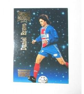 football Carte cards premium panini 1995 n°w 09 daniel bravo psg