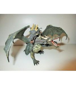 MAGNIFIQUE DRAGON BI TETE PAPO 2005 CHEVALIER CHATEAU FEERIQUE (12x17cm)