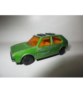 VEHICULE MATCHBOX  SUPERFAST - N°7 VW GOLF  1976 LESNEY (6,5x3cm)